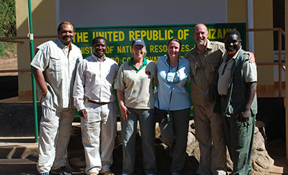 Group Photo in Tanzania