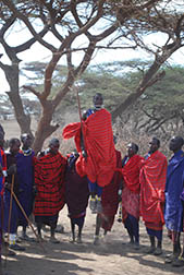 Tanzania Safari Tribal Gathering